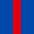 4x Rouge / 1x Bleu Roi