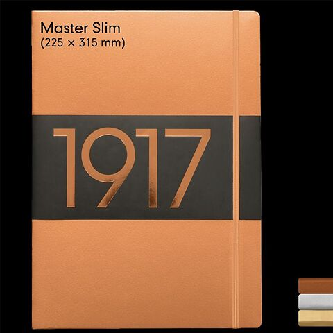 1917 Metallic Edition Carnets de Notes Master Slim