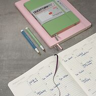 Monthly Planner with Notebook, Anglais