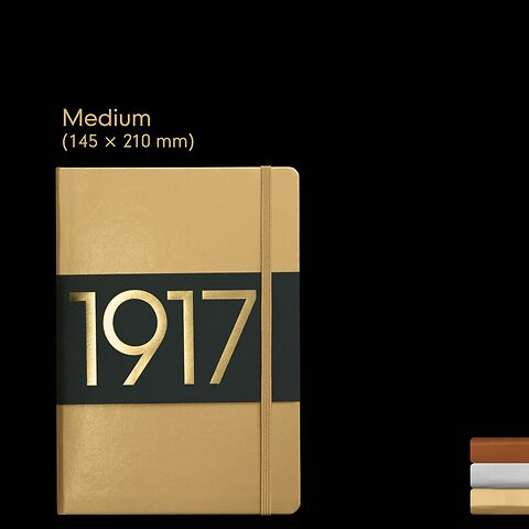 1917 Metallic Edition Carnets de Notes Medium