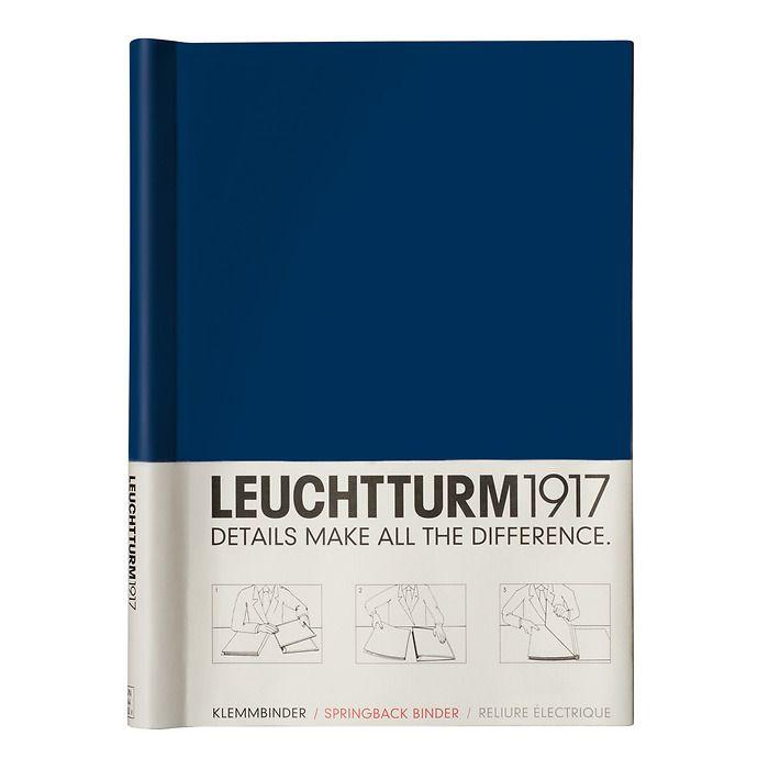 Reliure Électriques PEKA A4, 200 pages, Dim.: 305 x 220 x 25 mm, bleu marine