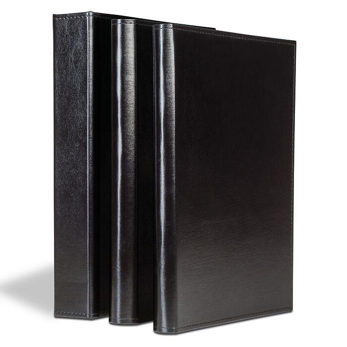 Album pour documents, 60 pochettes A4, noir