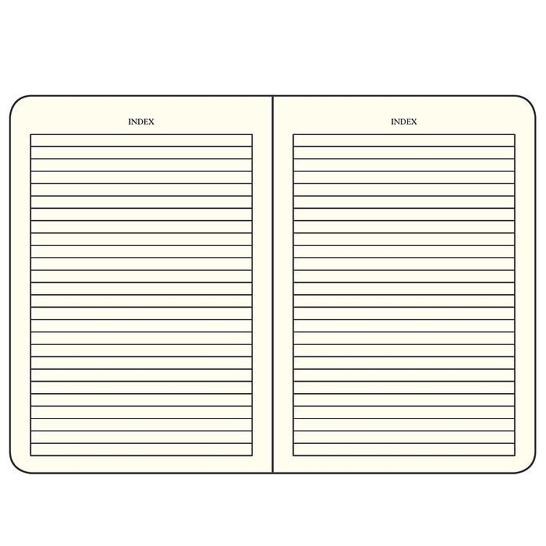 Bullet Journal Carnet Medium (A5) couverture rigide,240 pages numérotées, pointillés, noir