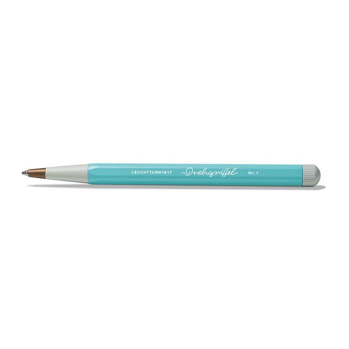 Drehgriffel Nr. 1, Aquamarine - Stylo à bille avec encre bleue