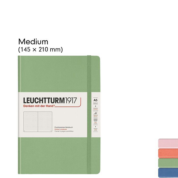 Muted Colours – Carnets de Notes Couverture Rigide